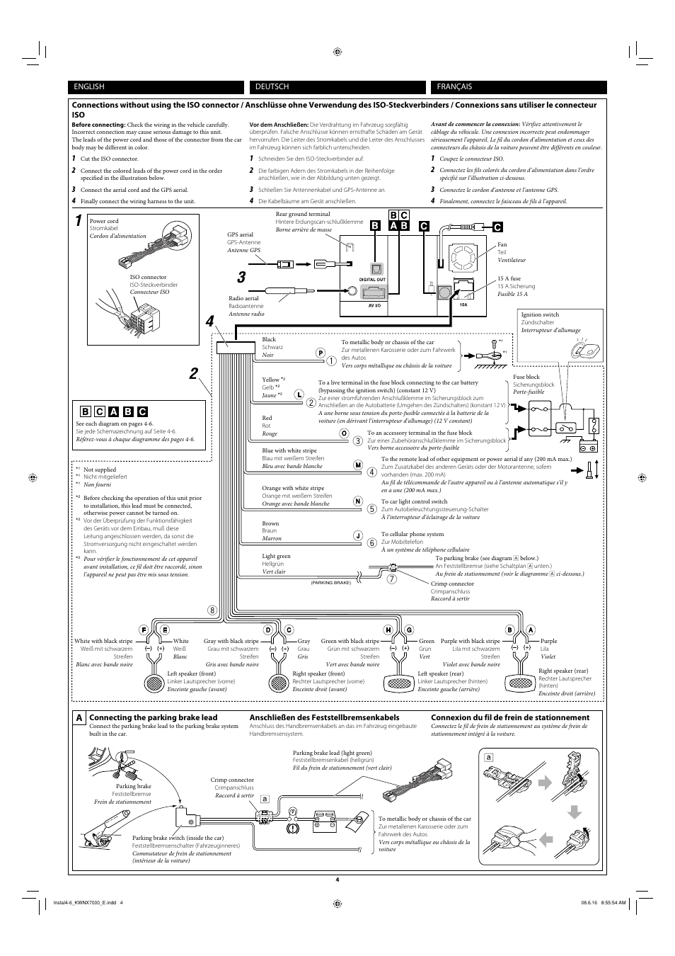 Großartig 4 Draht Anschlussdiagramm Ideen - Schaltplan Serie Circuit ...