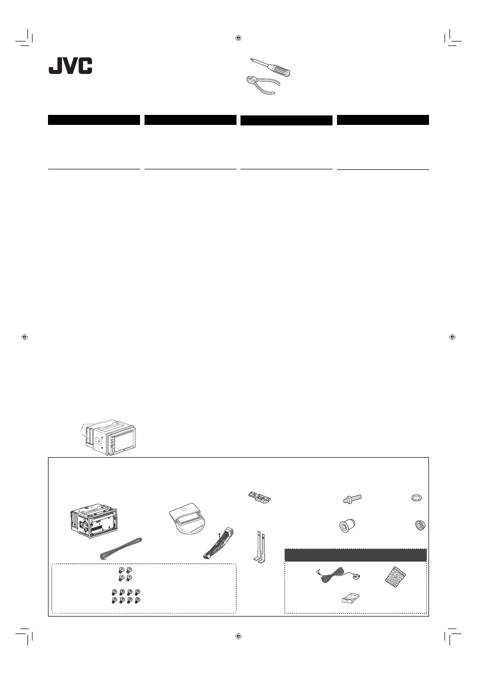 Jvc kw av60bt manual