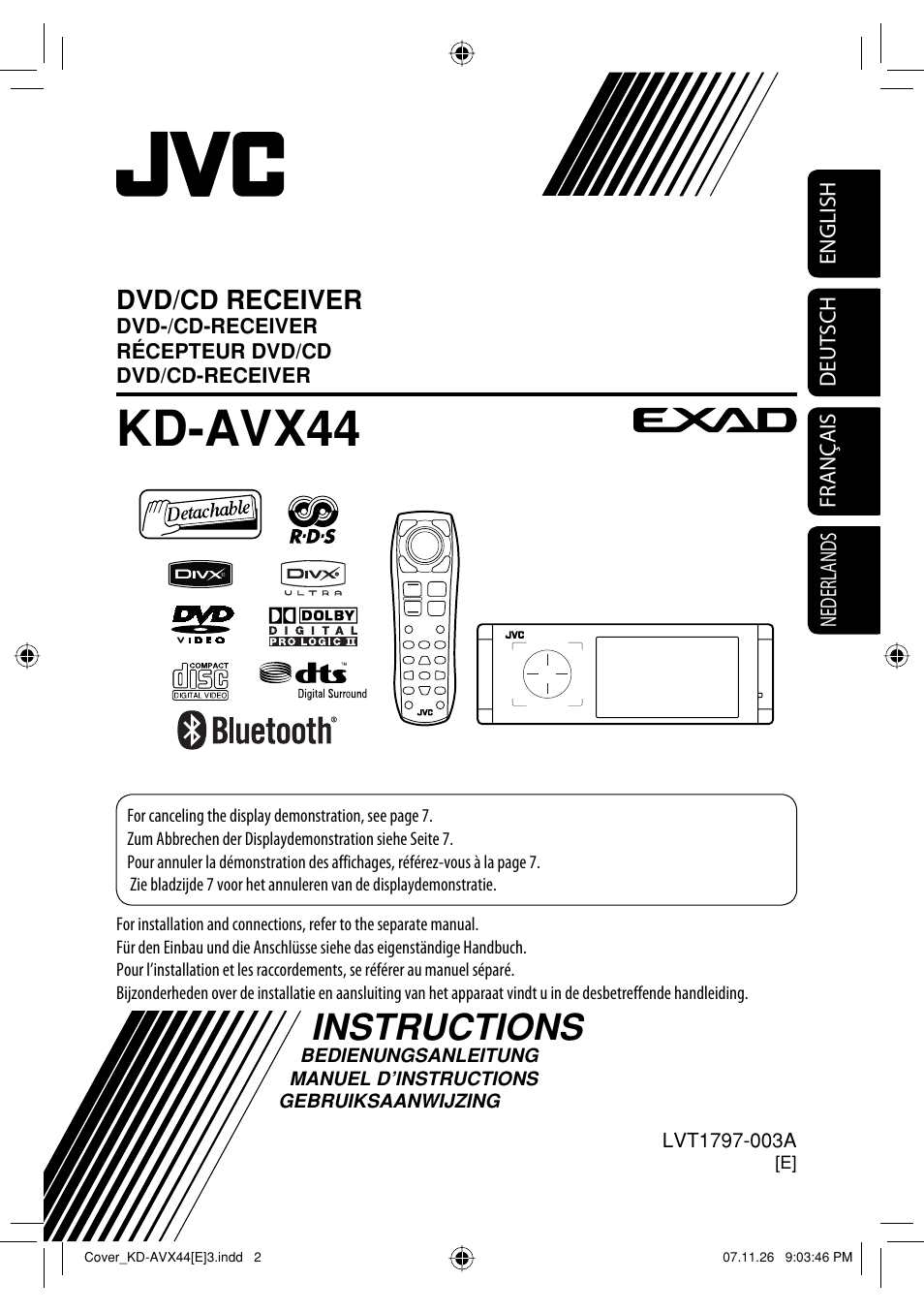 Jvc Car Audio Bluetooth Pairing Code Kdavx44 Wiring Diagram Dvd Player With Lcd Monitor Double