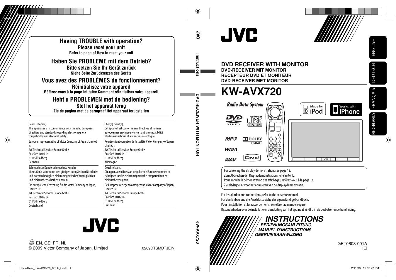 jvc user manual