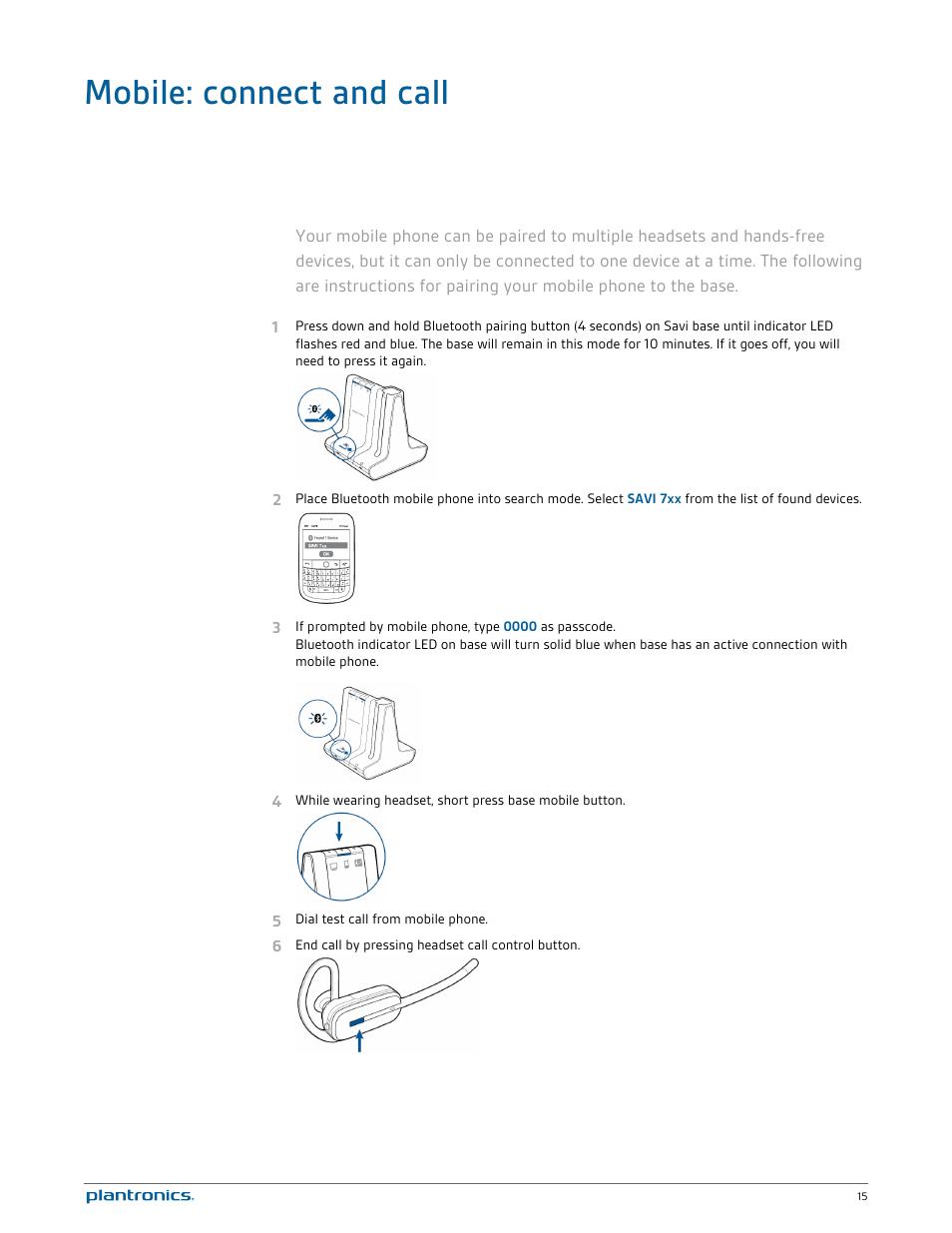 Plantronics savi w740-m manuals.