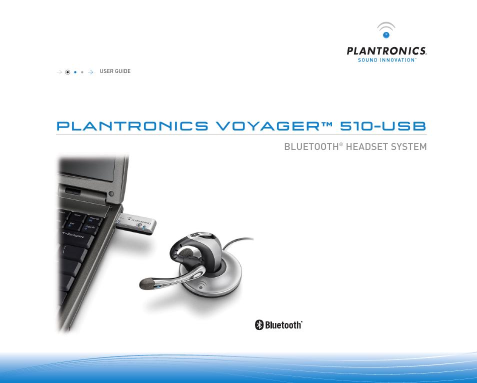 plantronics voyager 510 usb user manual 10 pages rh manualsdir com