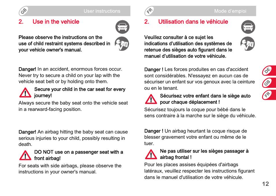 Baby-safe plus shr ii newborn car seat | britax römer.