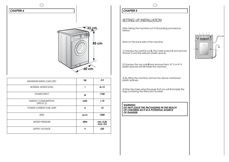 candy holiday 1000 user manual page 18 67 rh manualsdir com candy grando washing machine instruction manual Candy C420 Washing Machine