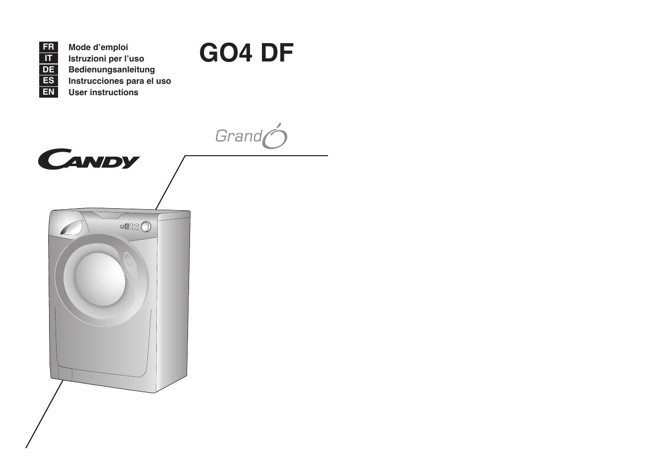 Инструкция candy g04 107 df