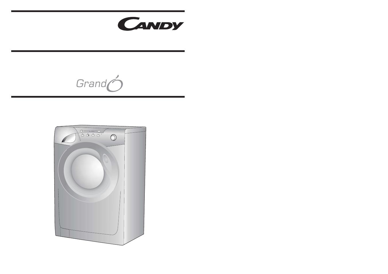 candy go 292 80 user manual 17 pages rh manualsdir com Edible Candy Washing Machine candy grando vita washing machine instruction manual