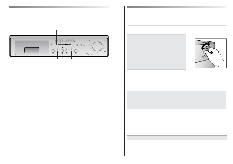 Description of controls candy cdb 264 80 user manual page 4 20 aloadofball Choice Image