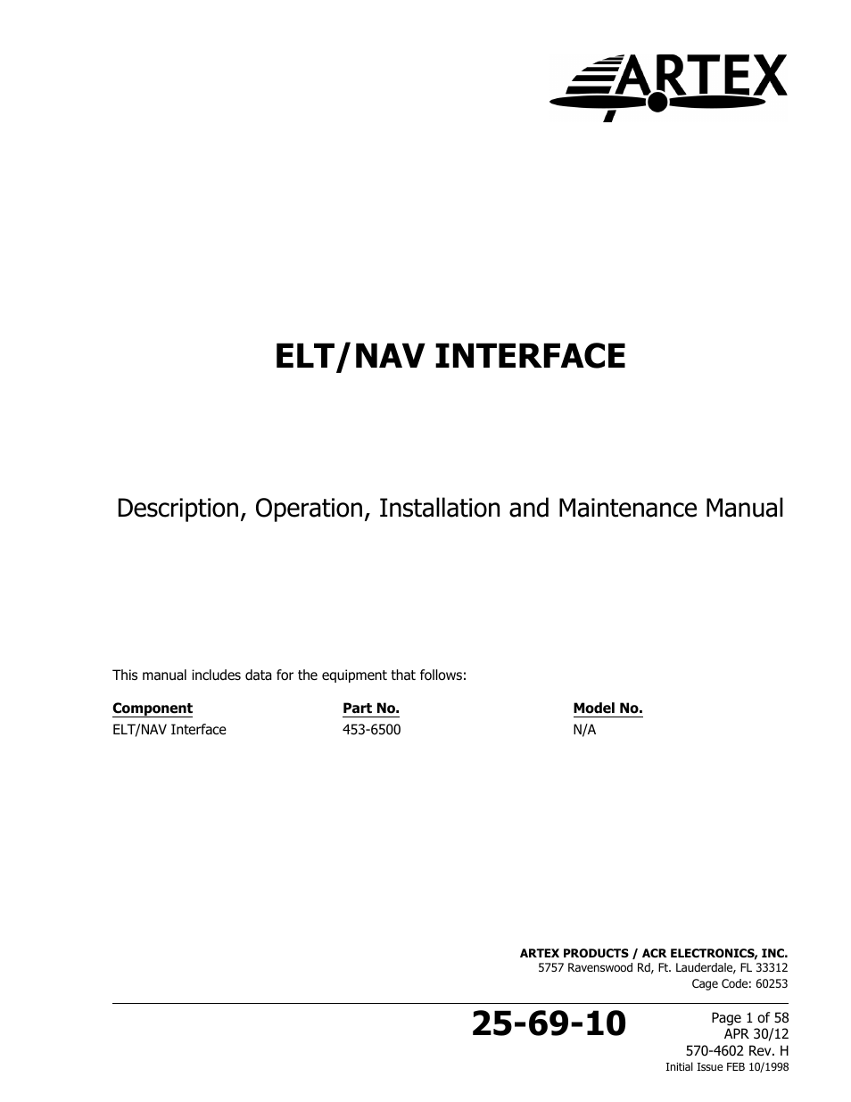 acrartex elt to nav interface page1 acr&artex elt to nav interface user manual 58 pages elect wiring diagram at mifinder.co