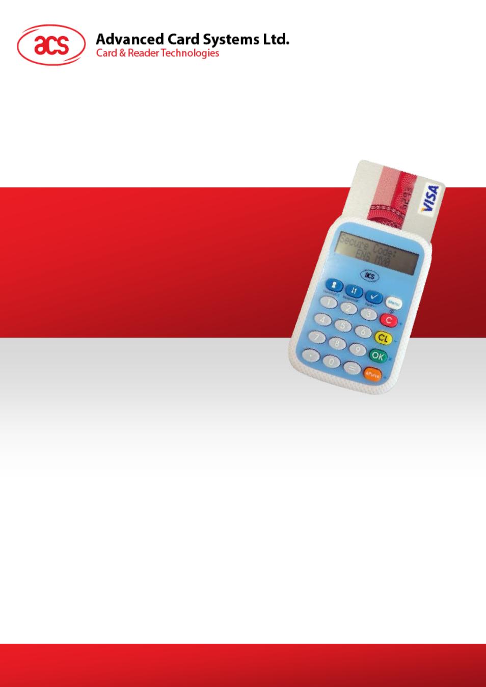 acs apg8201 pinhandy 1 otp generator user manual