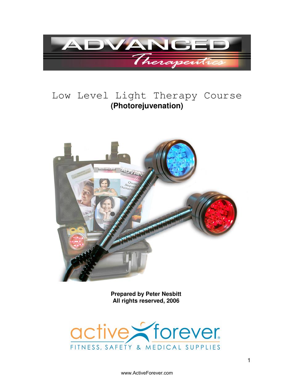 activeforever quasar md plus advanced light therapy device user rh manualsdir com Instruction Manual Instruction Manual Example