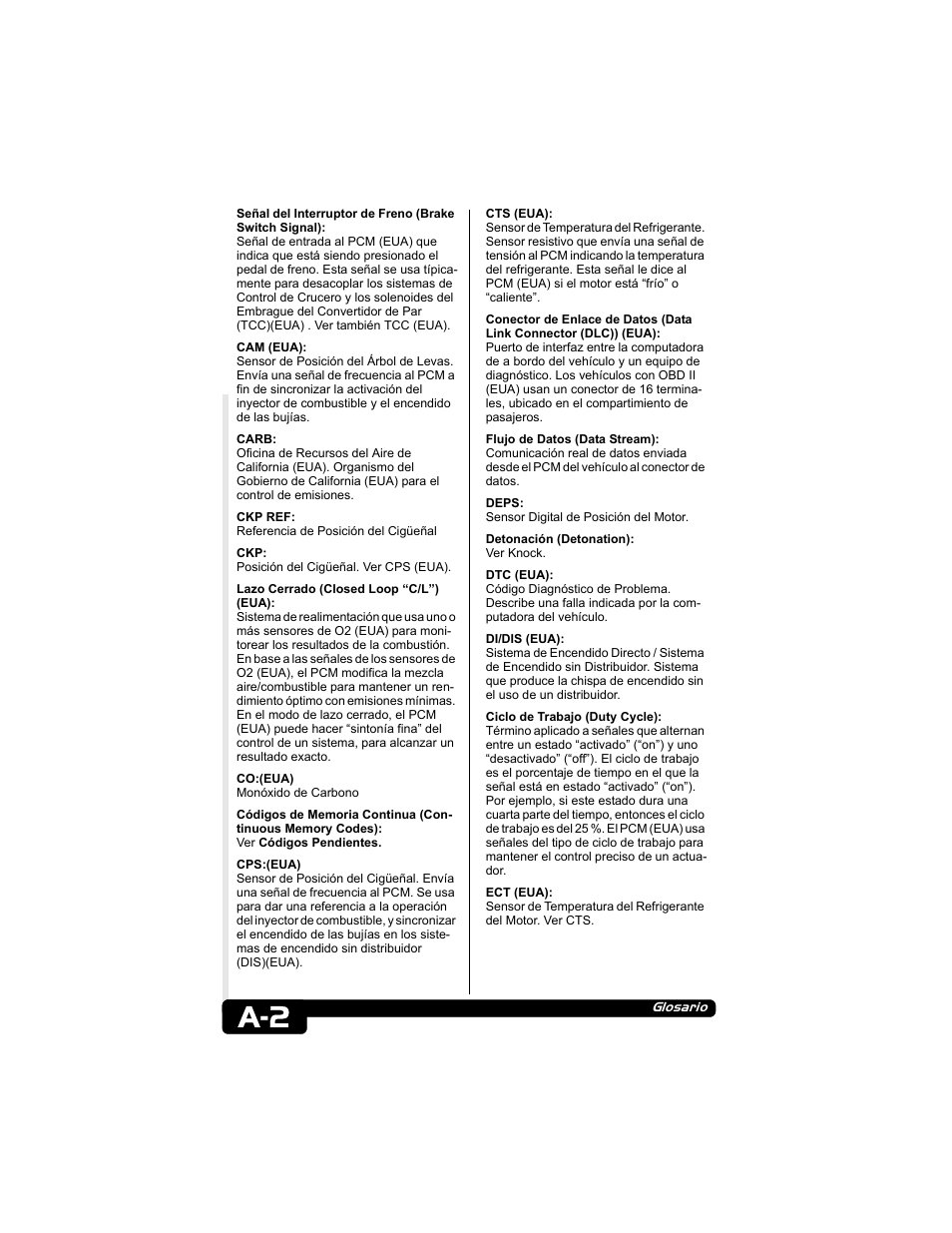 actron cp9135 obd ii autoscanner user manual page 106 120 rh manualsdir com Actron CP9135 ManualDownload Actron CP9125