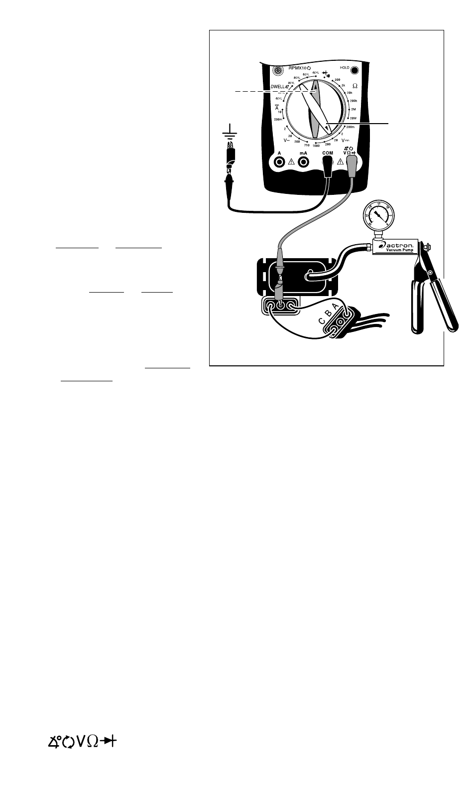fig 34 actron autotroubleshooter cp7677 user manual page 31 rh manualsdir com Actron CP7677 DMM User Manual Actron CP7677 DMM