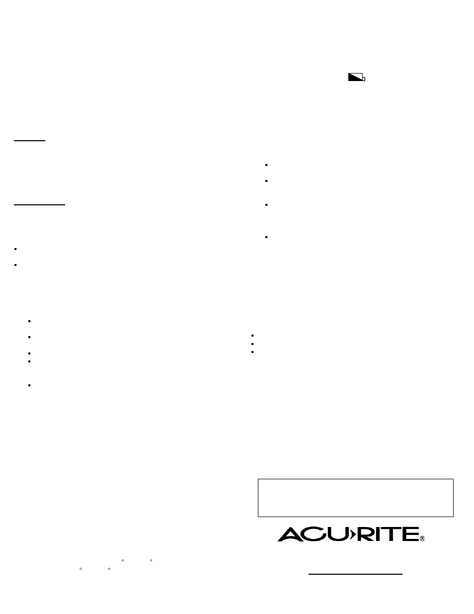 Acurite 00591w Thermometer User Manual Manual Guide