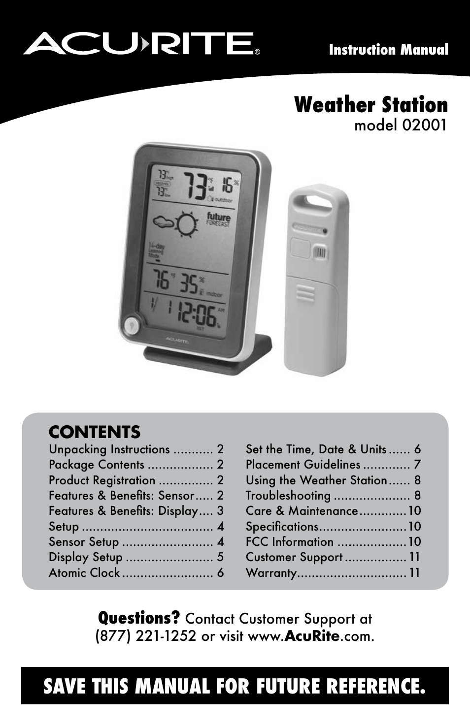 Weather Station Manual H10515 Dcf Manual Guide