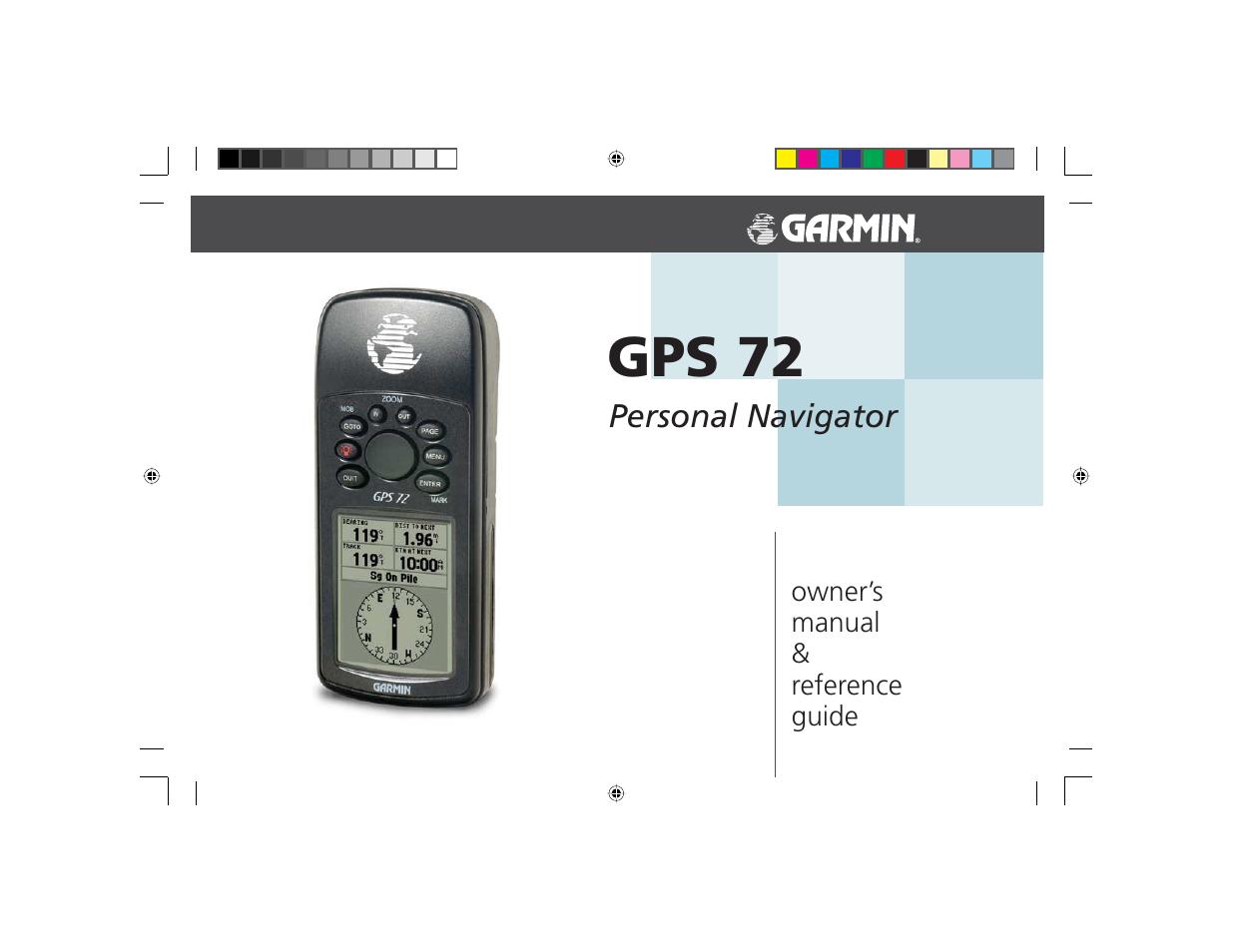 Garmin GPS 72 User Manual | 67 pages