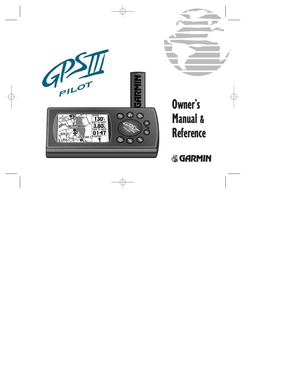 garmin gps iii pilot user manual 112 pages rh manualsdir com Garmin Updates garmin pilot iii manual