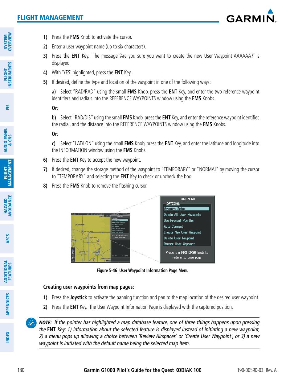 Flight management | Garmin G1000 Quest Kodiak User Manual | Page 192 / 502