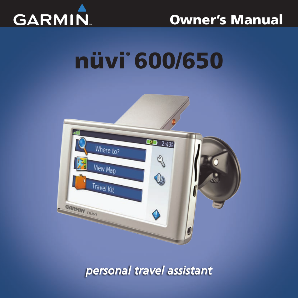 garmin nuvi 650 user manual 49 pages rh manualsdir com garmin rino 650 owner's manual garmin rino 650 owner's manual