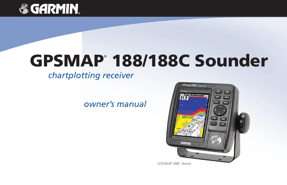 garmin gpsmap 188c sounder user manual 126 pages rh manualsdir com Garmin 188C Data Card garmin 188c sounder transducer