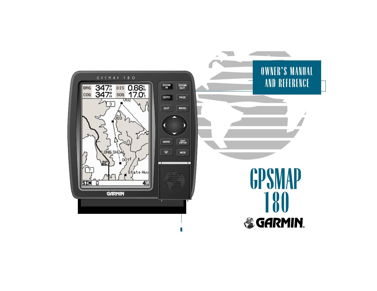 garmin gpsmap 180 user manual 96 pages rh manualsdir com Garmin Nuvi 50 Manual Garmin eTrex Manual PDF