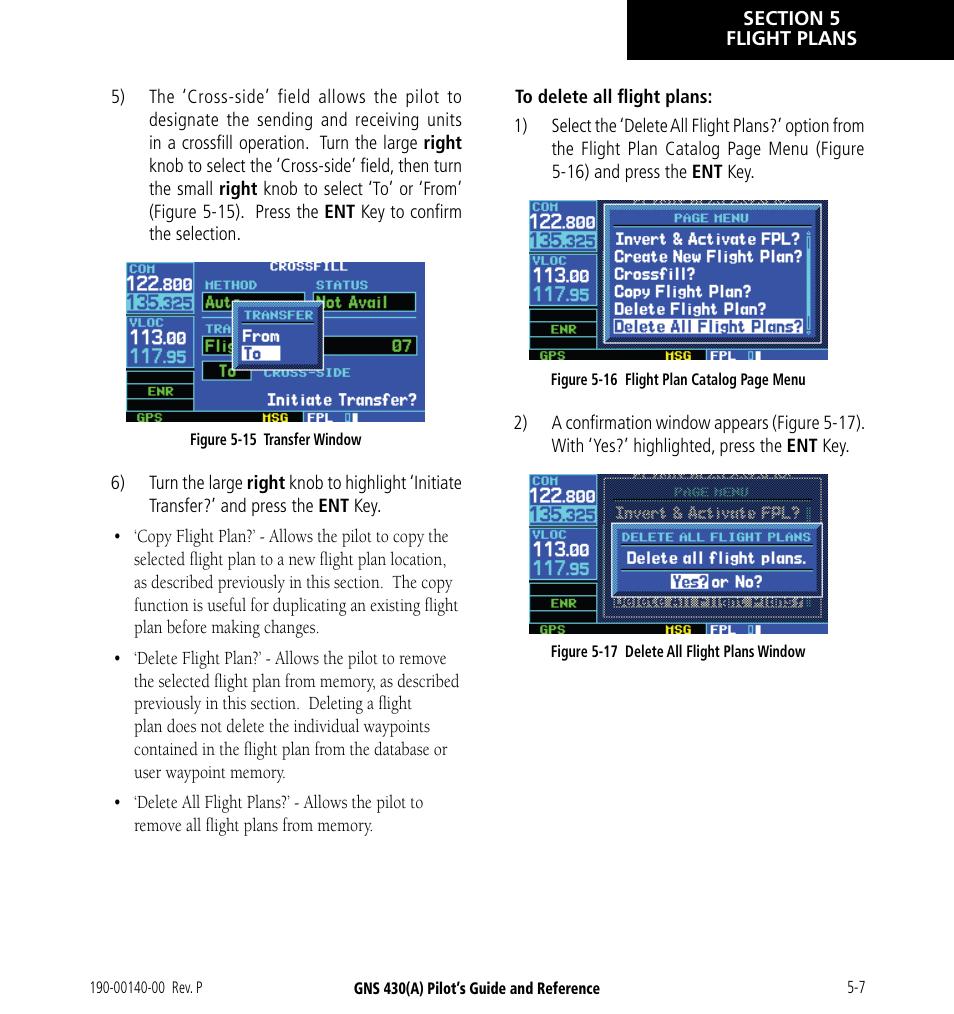 Garmin GNS 430 User Manual | Page 73 / 266 | Original mode | Also