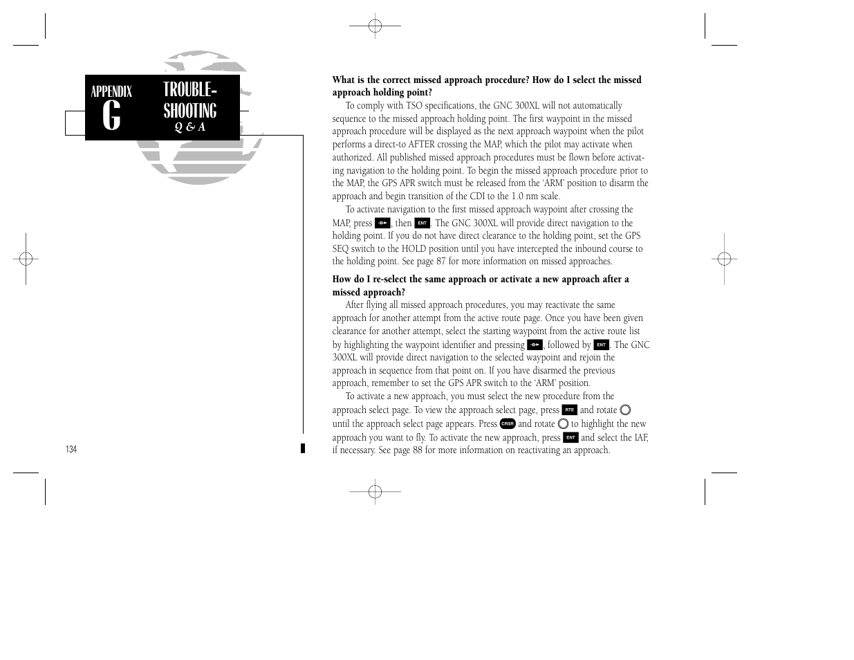 trouble shooting garmin gnc 300xl tso user manual page 144 150 rh manualsdir com GNC 300XL Simulator GNC 300XL Install Manual