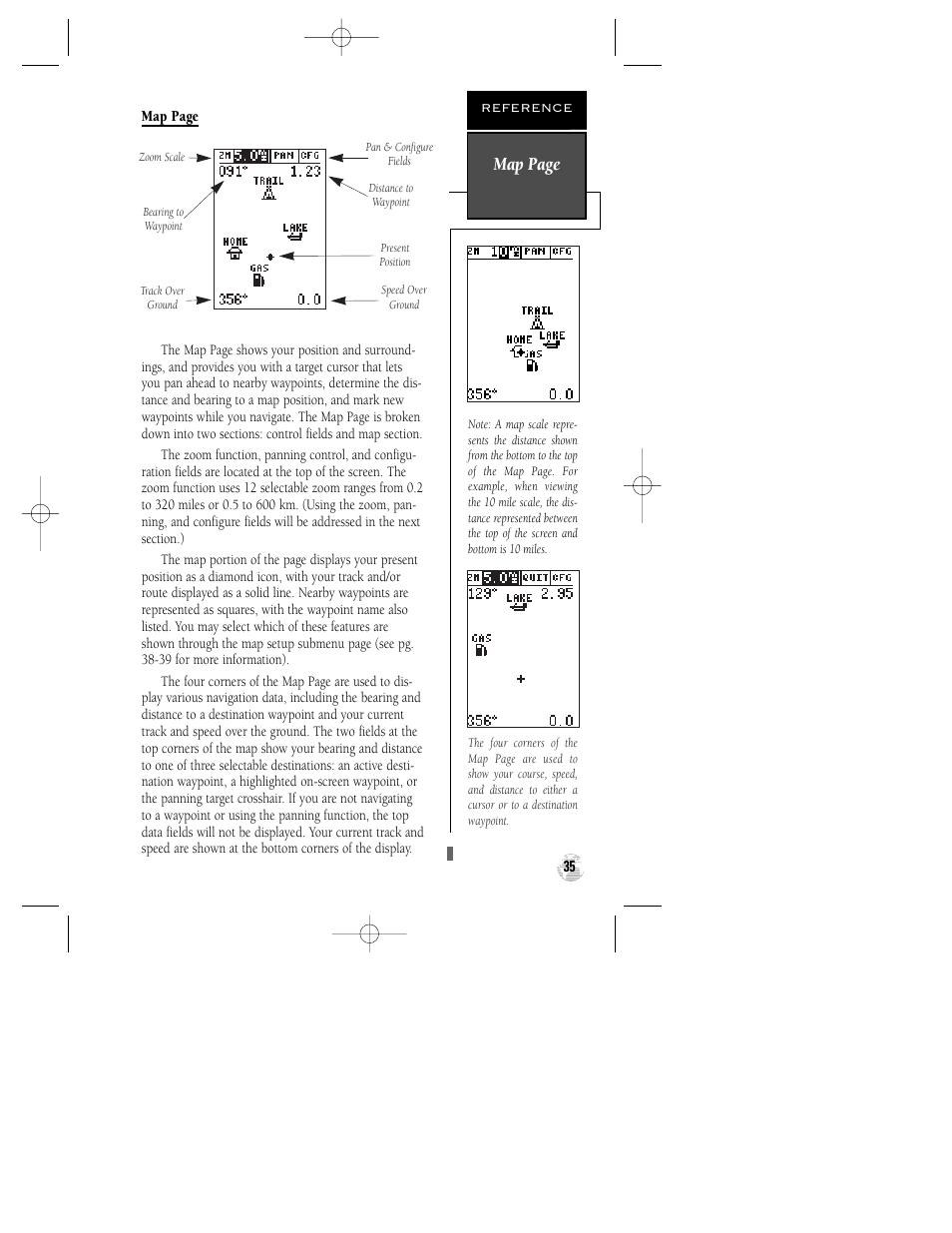 map page garmin gps 12xl user manual page 39 64 original mode rh manualsdir com garmin gps 12xl manual.pdf garmin gps 12 xl owners manual