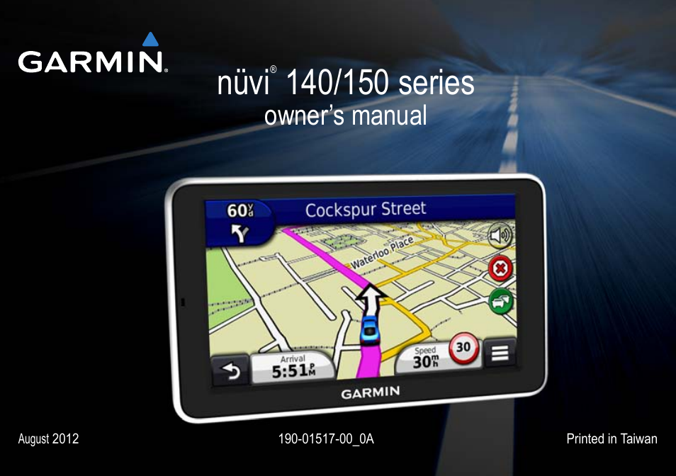 garmin nuvi 154lmt user manual 68 pages rh manualsdir com GPS Garmin Nuvi Manual garmin nuvi 40lm owners manual