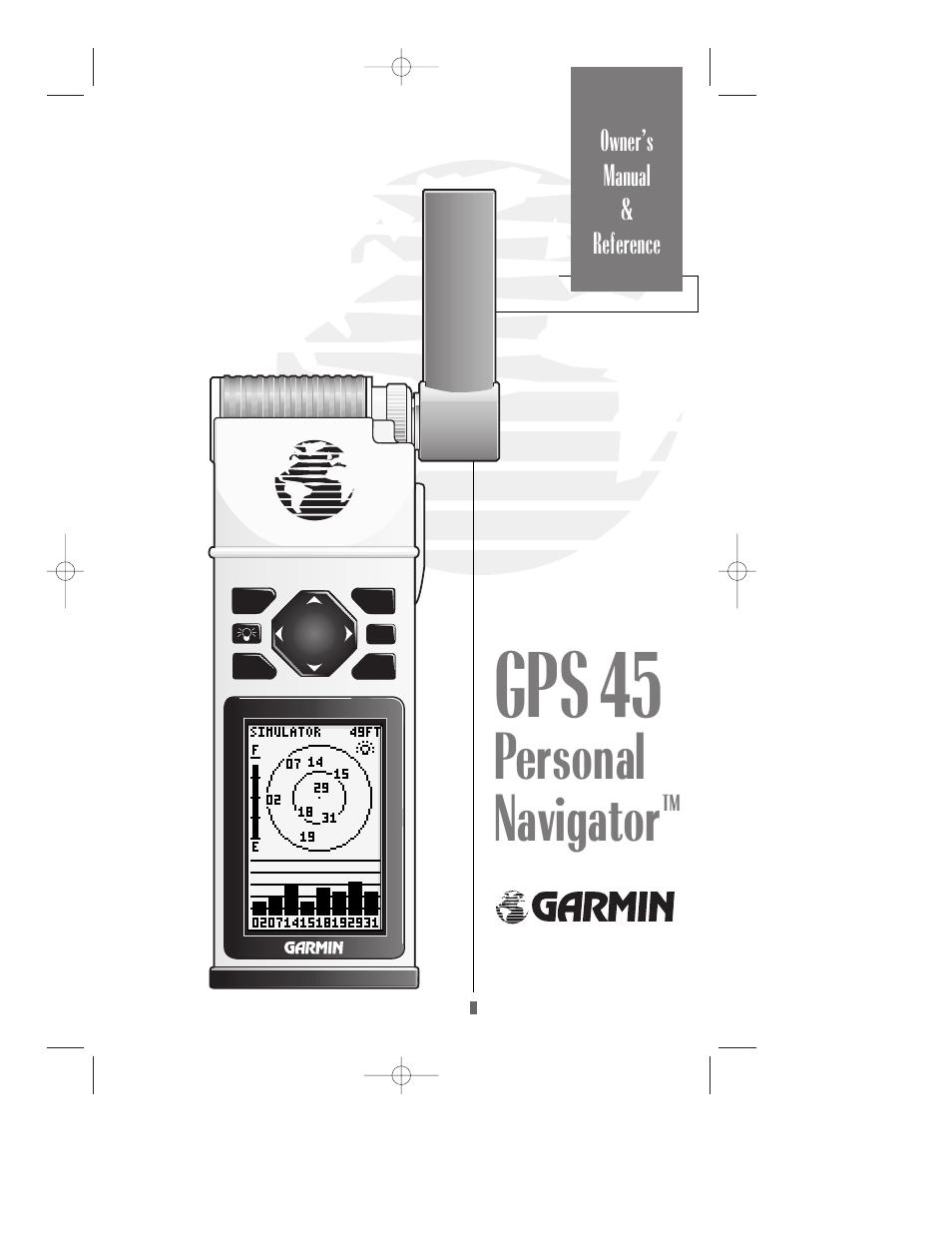 garmin gps 45 user manual 70 pages rh manualsdir com garmin gps 45 manual download garmin gps 45 manuale italiano