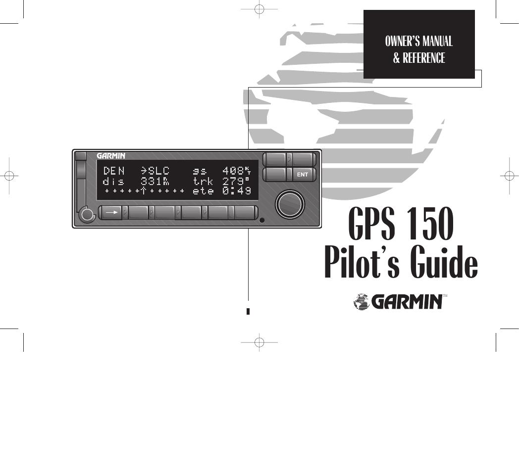 garmin gps 150 user manual 98 pages garmin gps v manual español Owner's Manual Garmin GPS 40