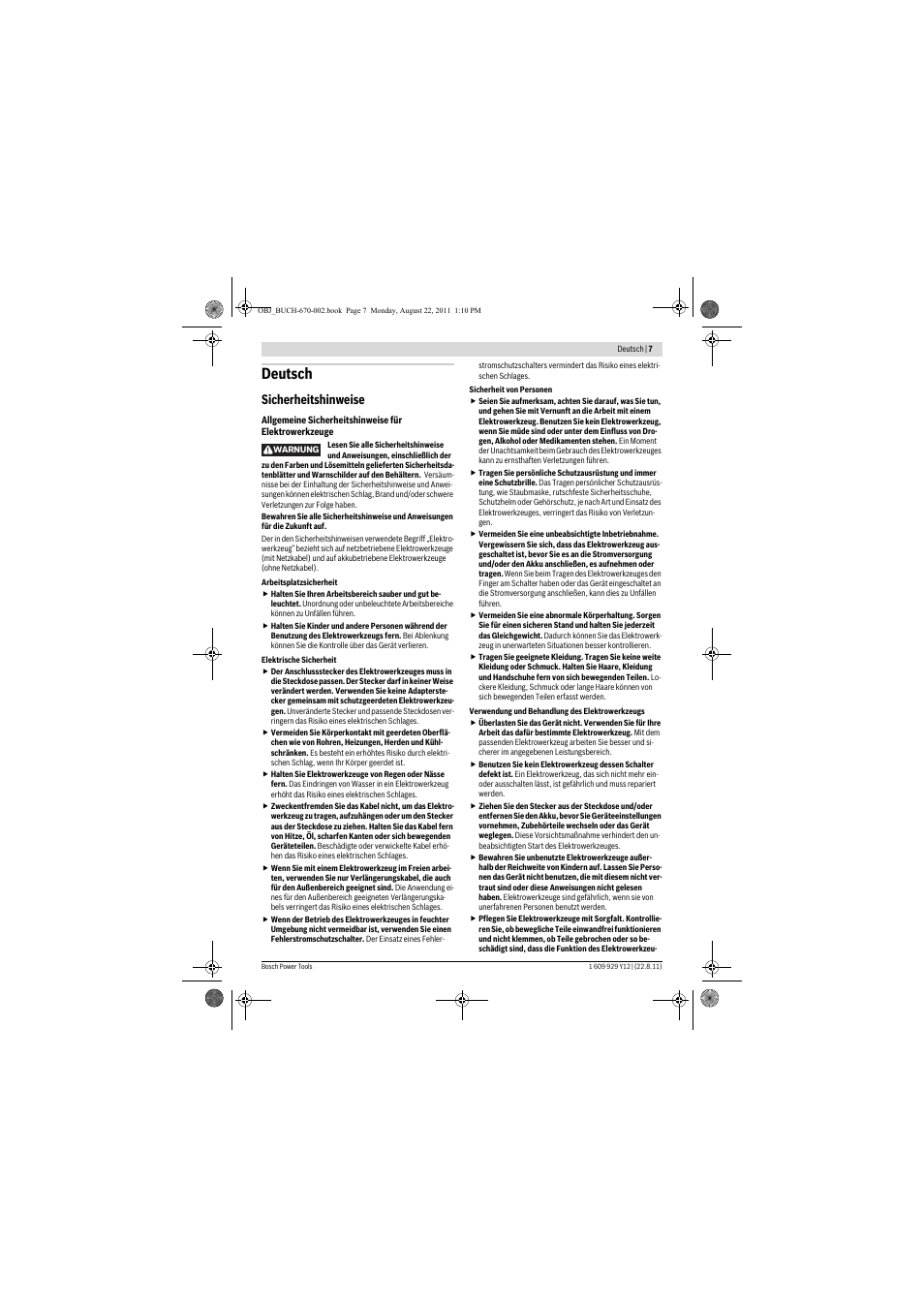 Bosch pfs 55 user manual | page 116 / 191 | original mode.