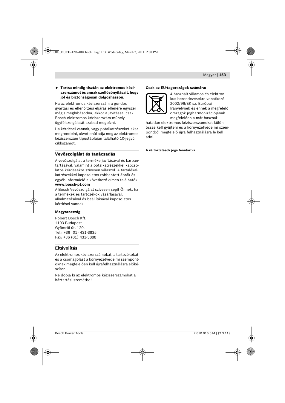 Bosch GTR 30 CE Professional User Manual | Page 153 / 256