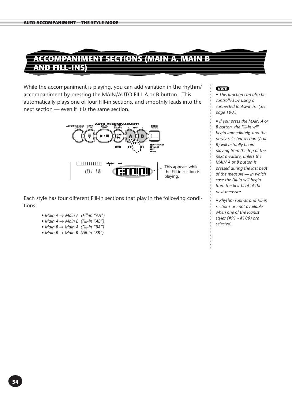 yamaha psr 340 user manual page 54 128 original mode rh manualsdir com manual de yamaha psr 340 en español Yamaha PSR S950