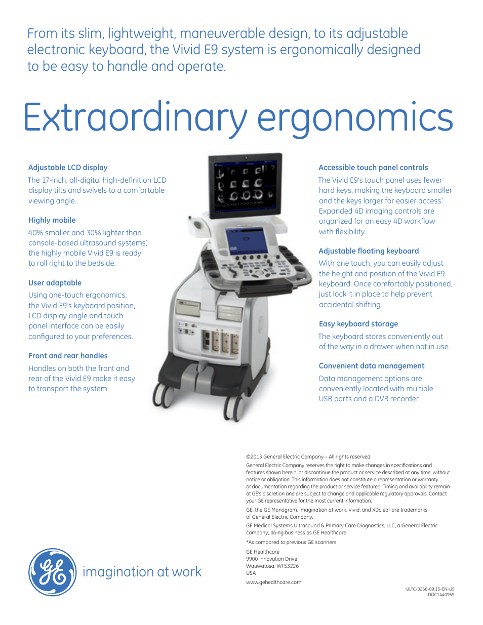 extraordinary ergonomics imagination at work ge healthcare vivid rh manualsdir com Types of Scanners GE Manual GE CT Scan