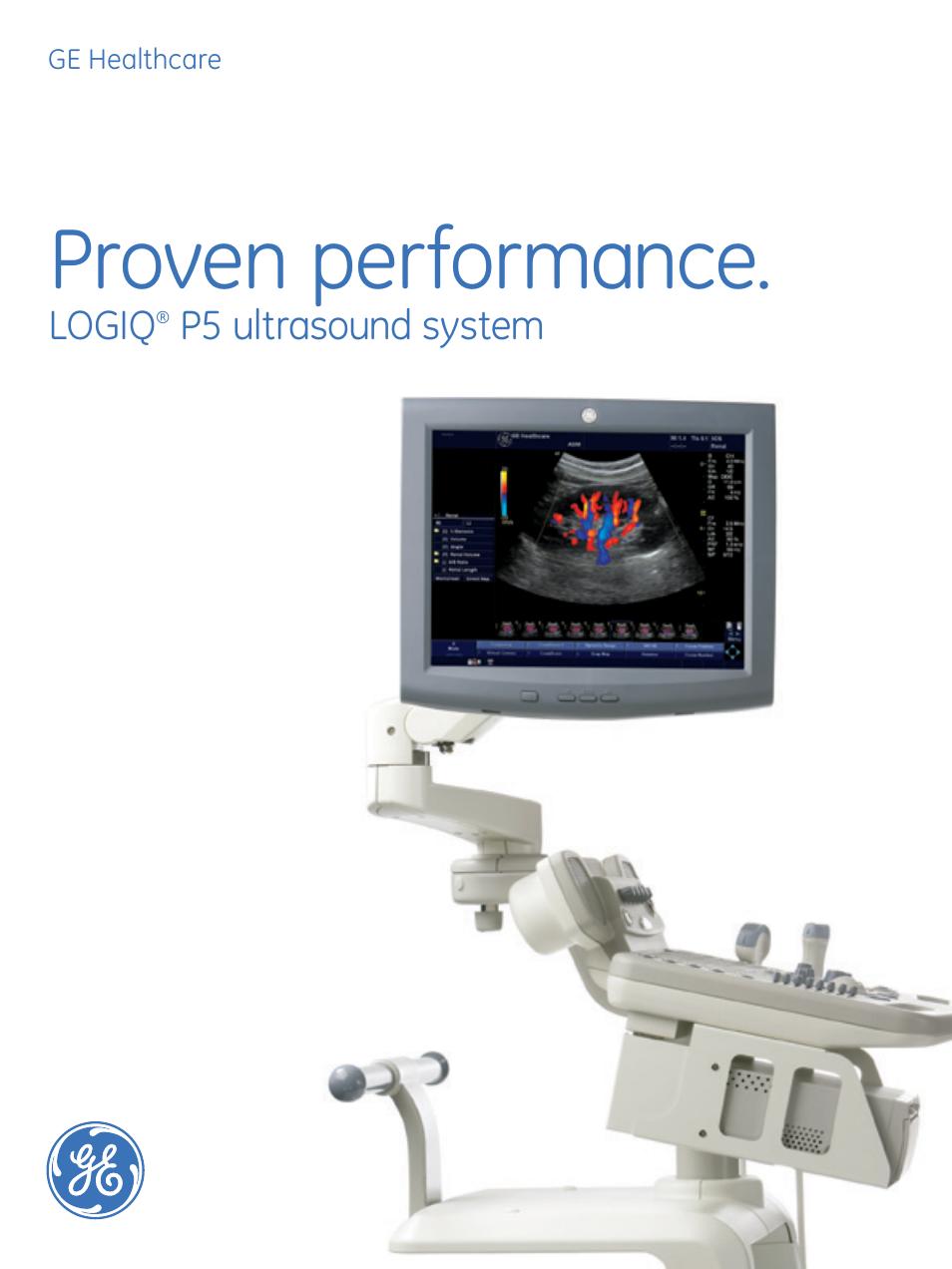 ge healthcare logiq p5 user manual