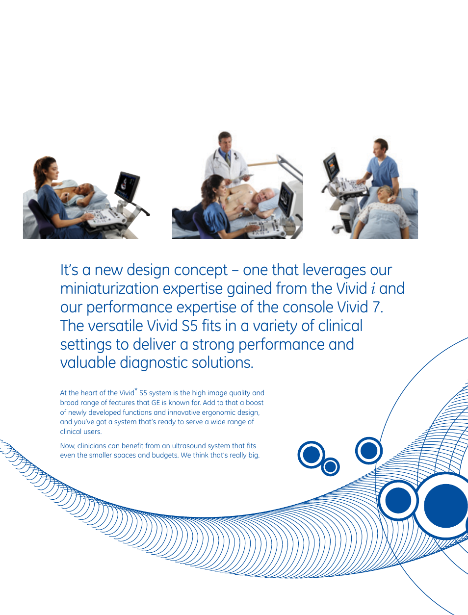 GE Healthcare Vivid S5 Cardiovascular ultrasound system User Manual | Page  3 / 8