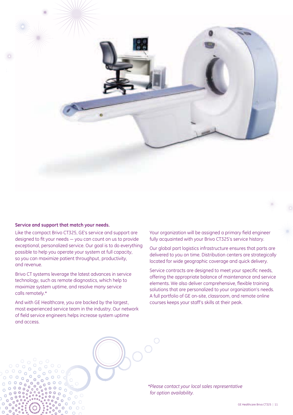 ge healthcare brivo ct325 user manual page 11 12 rh manualsdir com Old Sewing Machine Manuals Old Sewing Machine Manuals