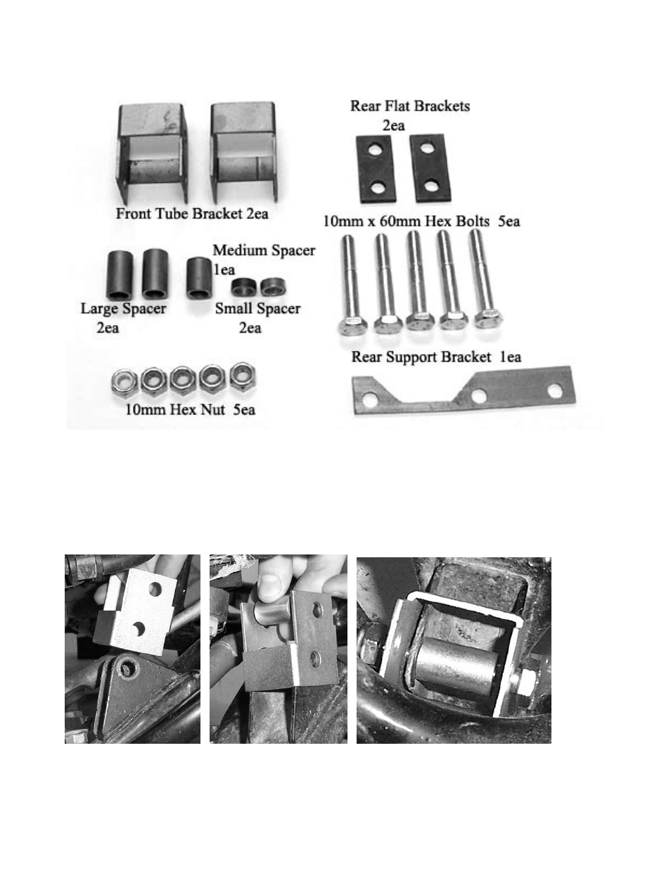 Honda Recon Parts Diagram Trusted Schematics 250 Wiring Front Lift High Lifter Kit For Es Engine