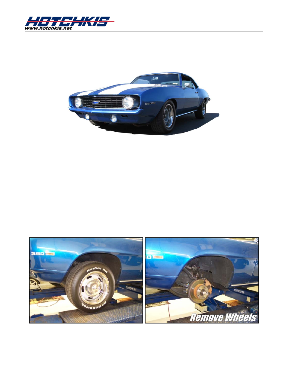 Kad1013209 front anti-roll bar installation instructions.
