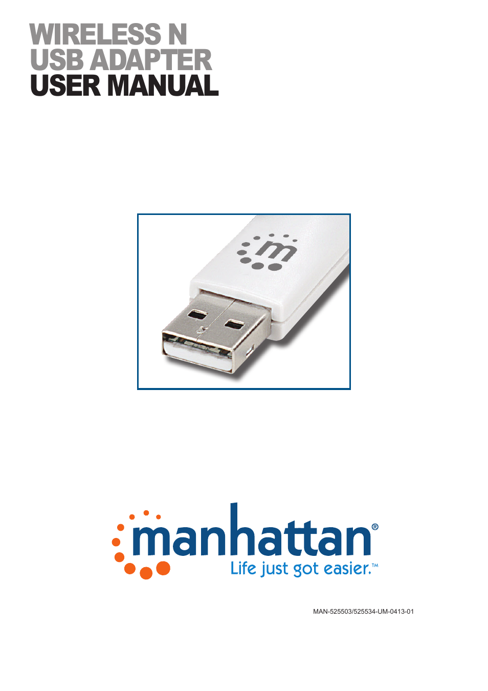 525503 Manhattan USB Adapter