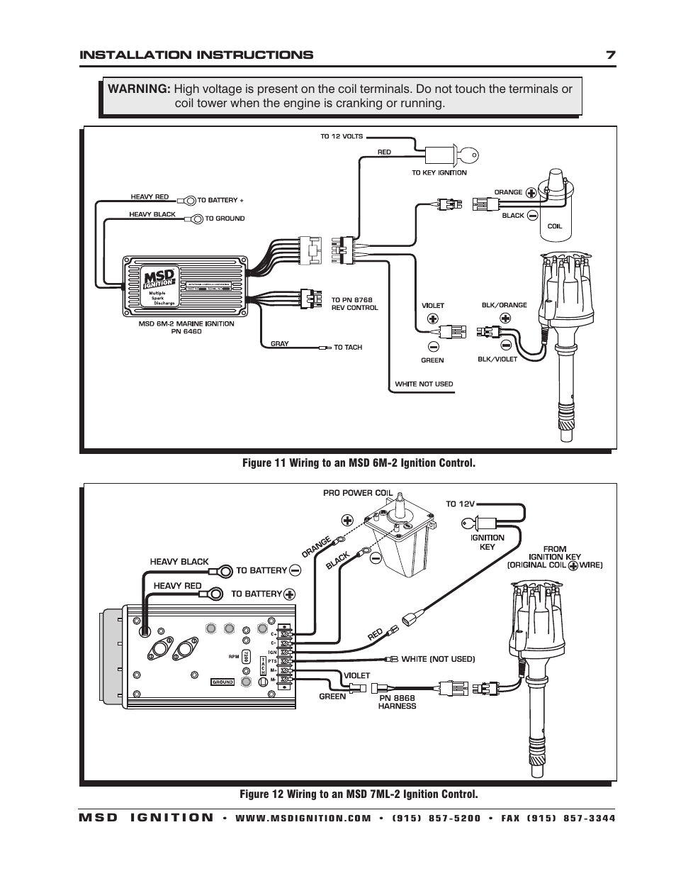Msd 7 Wiring Diagram Manual Of 7531 Digital 6m 2 Auto Meter Plus