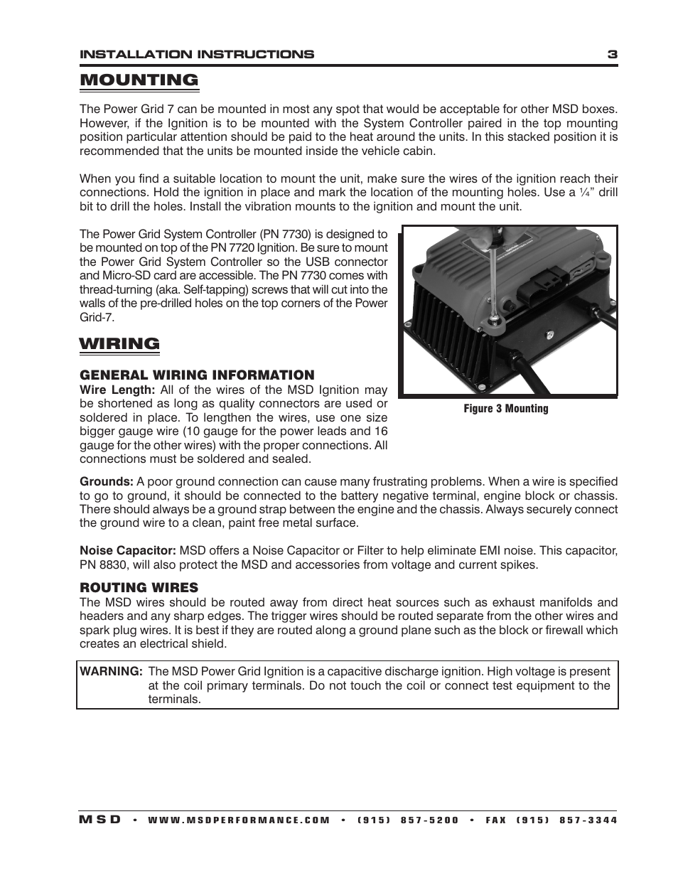 Luxury Msd Ignition 6200 Wiring Diagram Picture Collection - Wiring ...