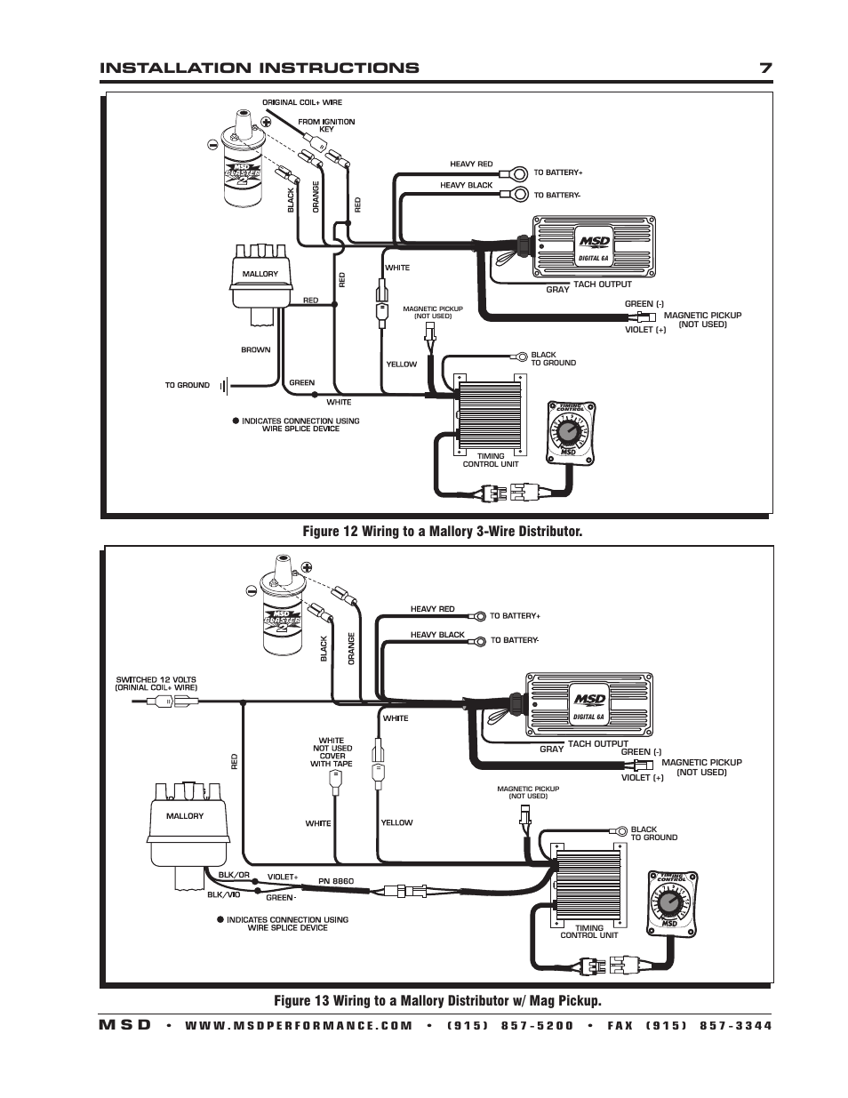 installation instructions 7 m s d   msd 8680 adjustable timing control  installation user manual   page 7 / 8  manuals directory