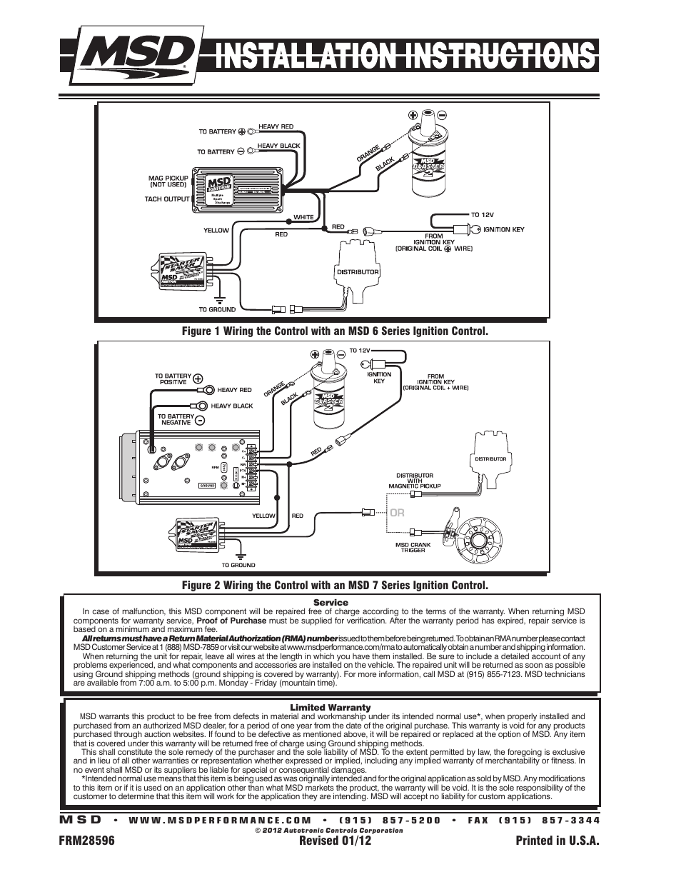 Msd 8984 Wiring Diagram Automotive Starter Saver Block And Schematic Diagrams 6al