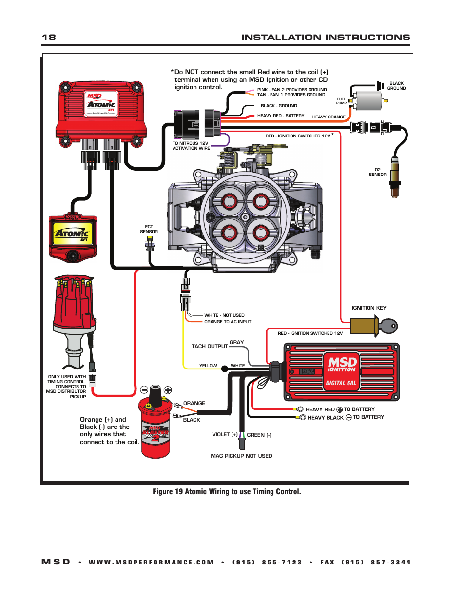 Mallory 6a High Fire Wiring Diagram Ask Answer Coil And Msd 6al Brake Lights Elsalvadorla