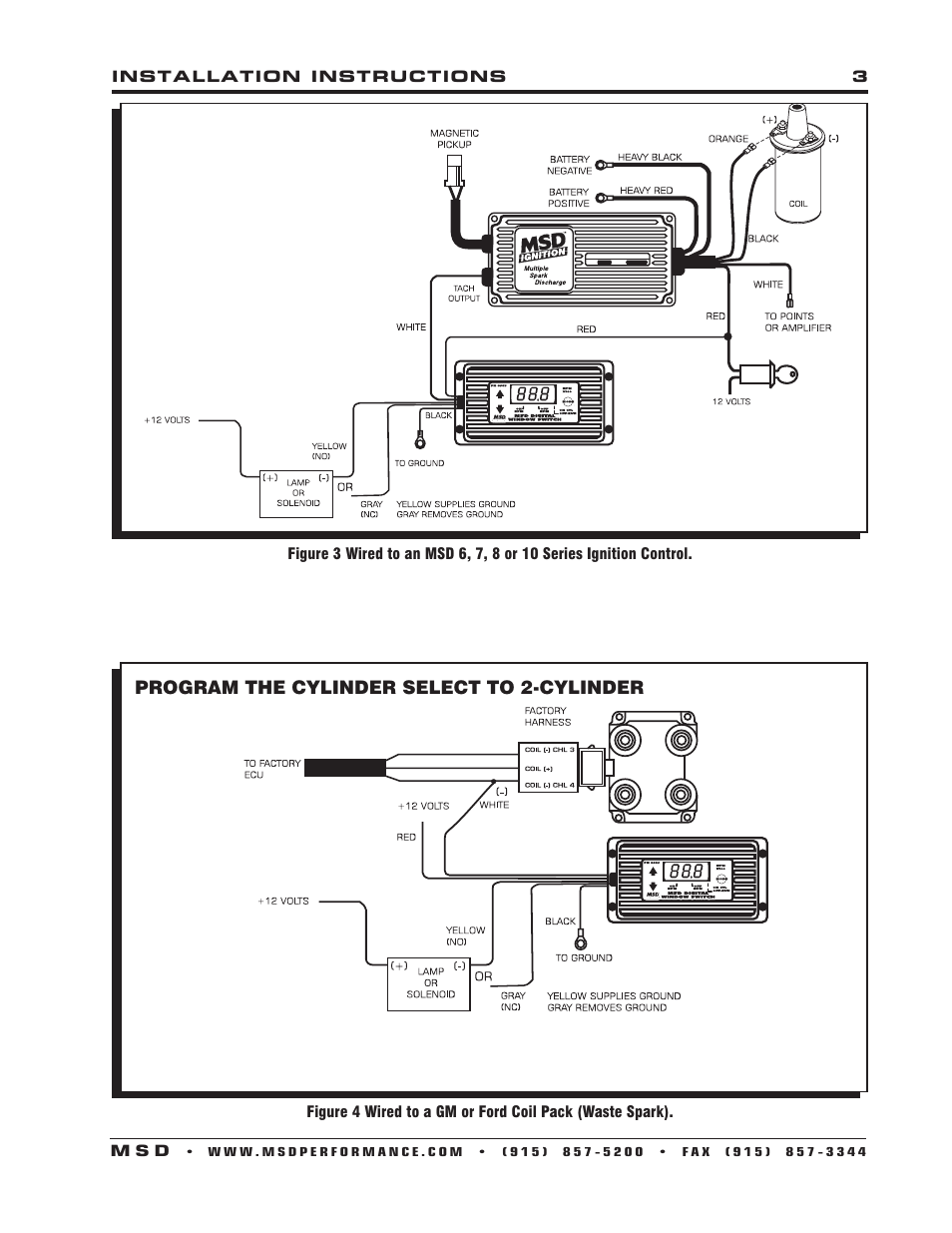 msd 8969 digital rpm window switch installation user