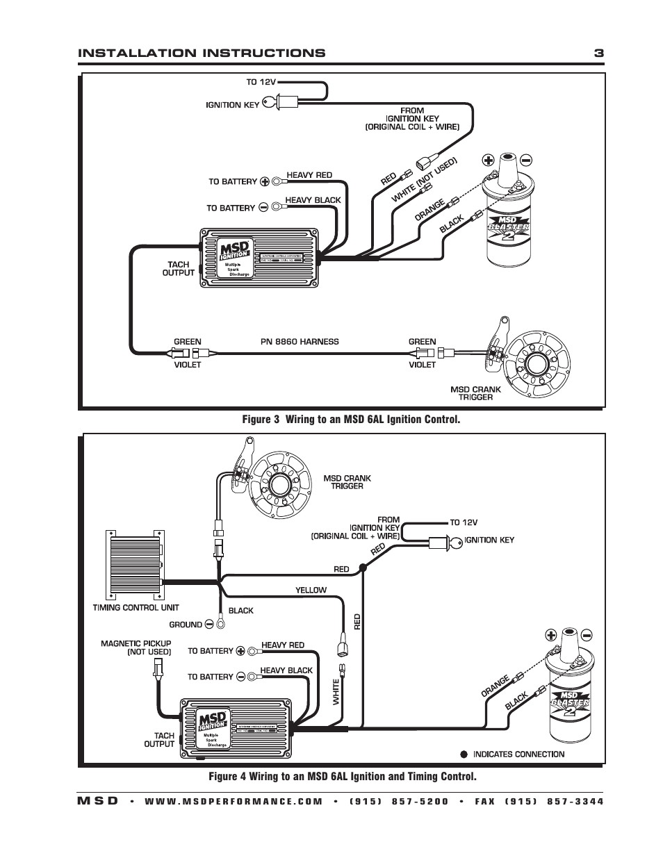 Msd Chrysler Ignition Wiring Diagram Best Secret 6al V8 Lokar 6a