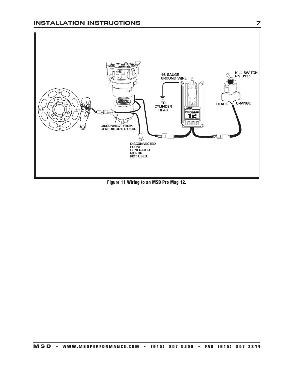 Msd Pro Mag 12 Wiring Diagram - Meta Wiring Diagrams Fax Line Wiring Diagram on