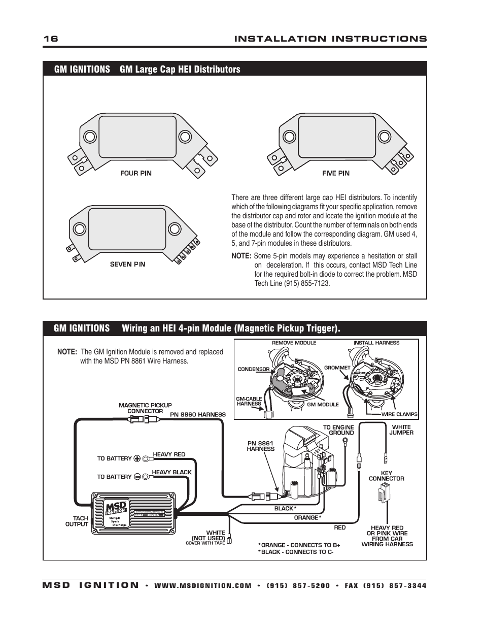 Msd Boost Timing Master Wiring Diagram 38 Images Retard 6430 6aln Ignition Control Installation Page16 User Manual Page
