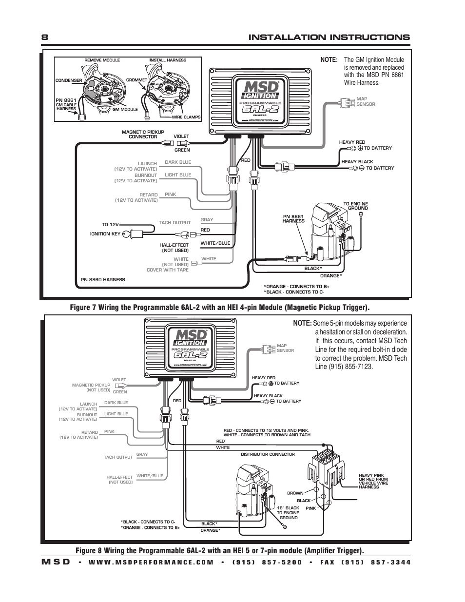 Msd Programmable 6al Digital Wiring Diagram 2 Ignition Page 8